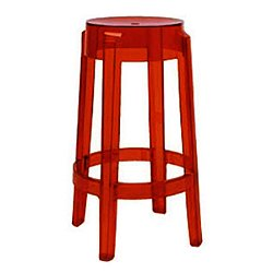 Charles Ghost Stool, Set of 2