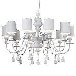 Eva 10 Light Chandelier