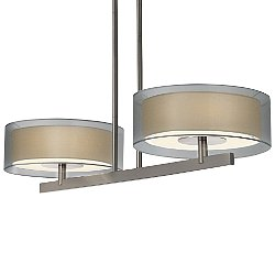 Puri 2-Light Bar Pendant Light