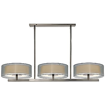 Shown in Satin Nickel with Silver shade