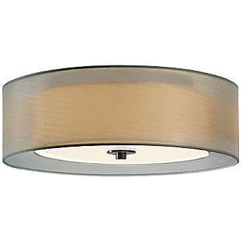 Shown in Satin Nickel with Silver shade, Medium