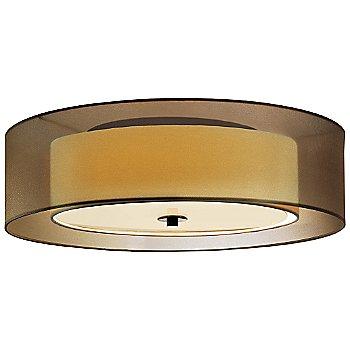 Shown in Black Brass with Bronze shade, Medium