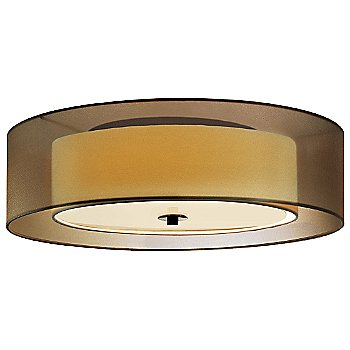 Shown in Black Brass with Bronze shade, Large