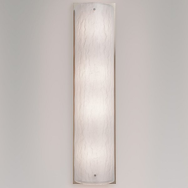 Textured Glass Cover Wall Sconce