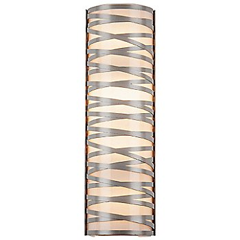 Frosted Glass / Metallic Beige Silver finish / 24 inch