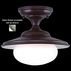 Independence Ceiling Light (Satin Nickel/Small) - OPEN BOX RETURN