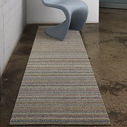 Skinny Stripe Indoor/Outdoor Shag Runner