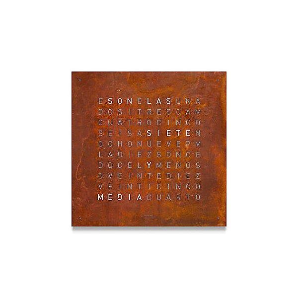 Creator's Edition Rust Wall Clock