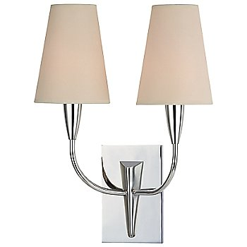 Shown in Cream shade, Polished Chrome finish