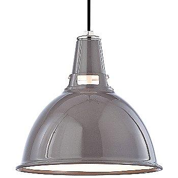 Gray Polished Nickel finish / Small size