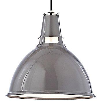 Gray Polished Nickel finish / Medium size