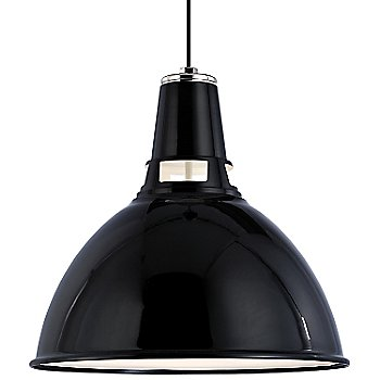Black Polished Nickel finish / Medium size