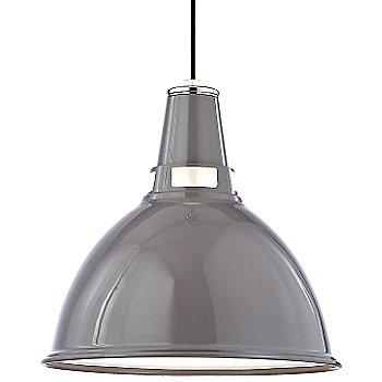 Gray Polished Nickel finish / Large size