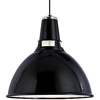 Black Polished Nickel finish / Large size