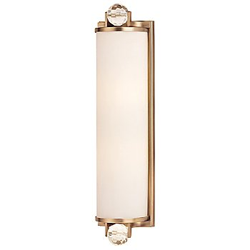 Shown in Brushed Bronze finish, Small size