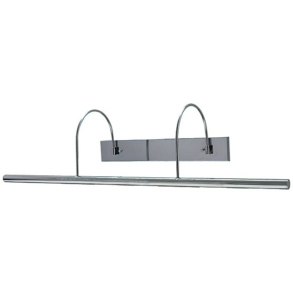 Curved Double Arm Direct Wire Slim-Line Picture Light