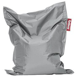 Fatboy Junior Bean Bag by Fatboy (Silver) - OPEN BOX RETURN