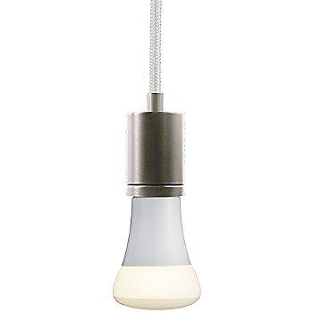 White cord color / Satin Nickel finish