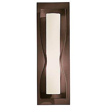 Pearl glass shade, Bronze finish