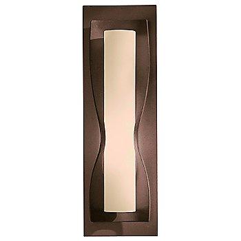 Stone glass shade, Bronze finish
