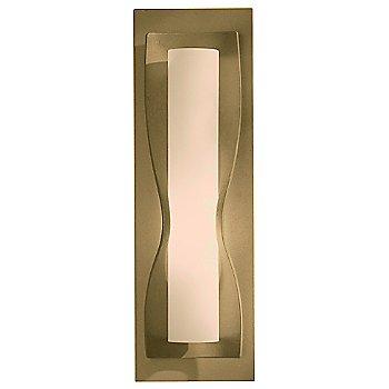 Stone glass shade, Gold finish