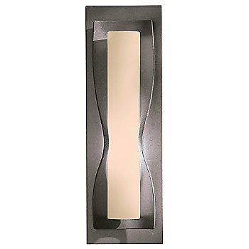 Stone glass shade, Natural Iron finish