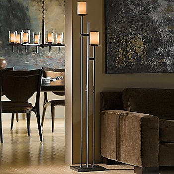 Rook 2 Light Floor Lamp / in use