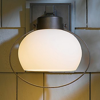 Opal shade color, Hand Rubbed Bronze finish