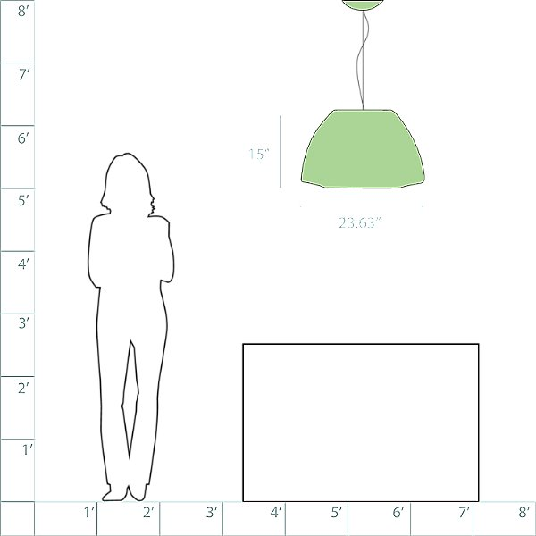 Bell Suspension Light - Direct