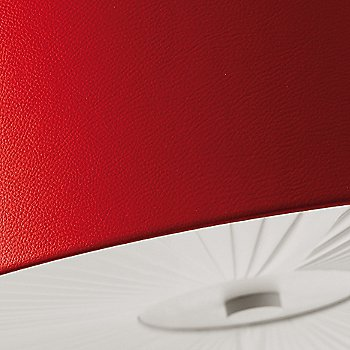 Red with White shade