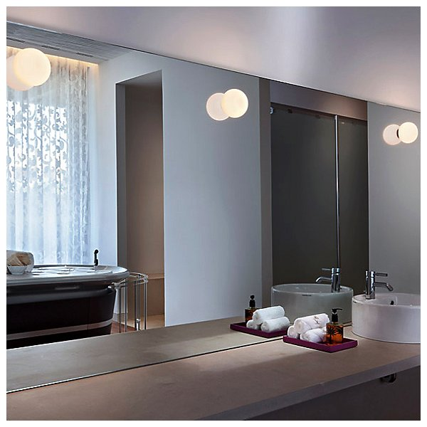 Glo-Ball C/W Zero Wall / Ceiling Light