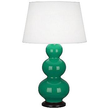 Emerald Green color  / Deep Patina Bronze finish