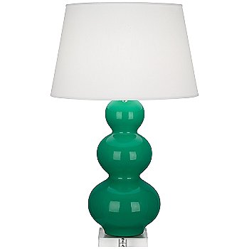 Shown in Emerald Green
