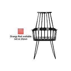 Comback Chair, Sled Base (Orangy Red) - OPEN BOX RETURN