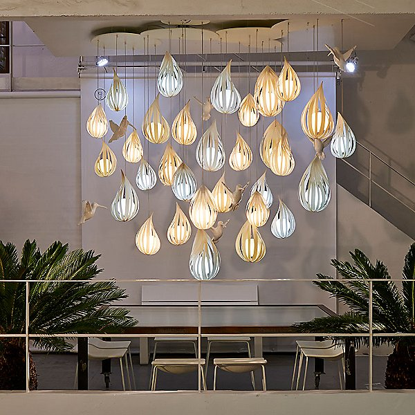 Raindrop LED Pendant Light