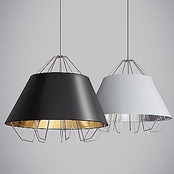 Gloss Black / Gloss Silver and Gold shade