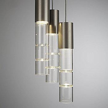 Metallic Beige Silver finish / 3 Light