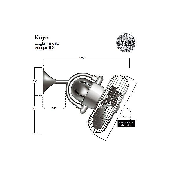 Kaye Wall Fan
