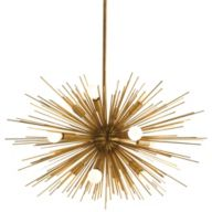 Modern Brass Chandeliers