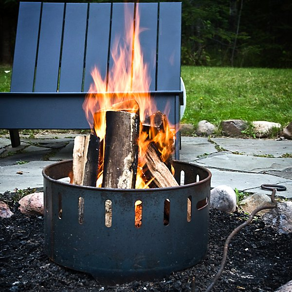 Fire Ring with Top