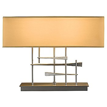 Burnished Steel finish / Doeskin Micro-Suede shade color