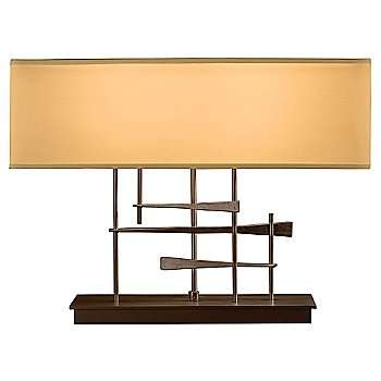 Doeskin Micro-Suede shade color / Bronze finish