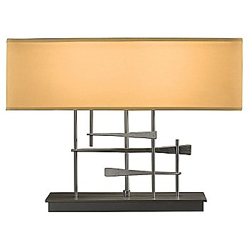 Doeskin Micro-Suede shade color / Natural Iron finish