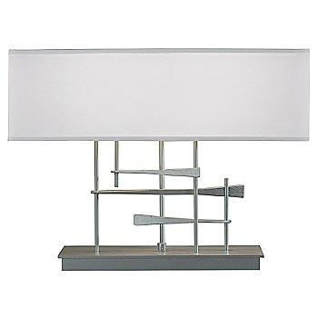 Light Grey shade color / Vintage Platinum finish