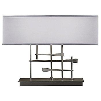 Medium Grey shade color / Natural Iron finish