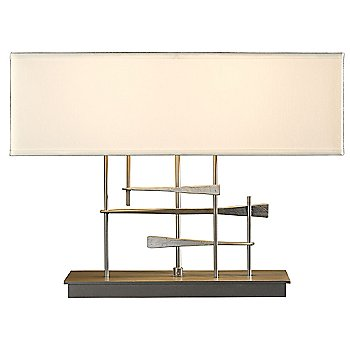 Natural Anna shade color / Burnished Steel finish