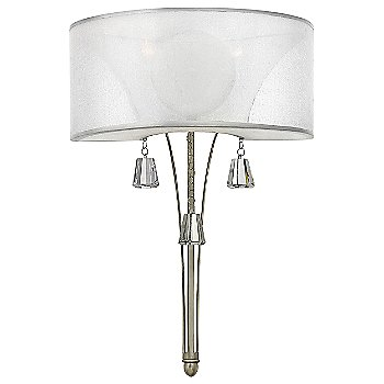 Shown in Brushed Nickel with Sheer Hard Back