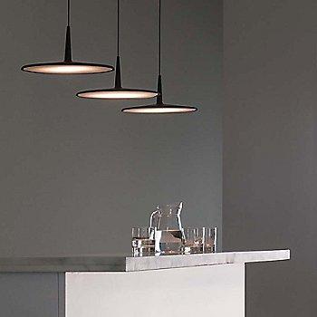 Illuminated in Black finish / in use