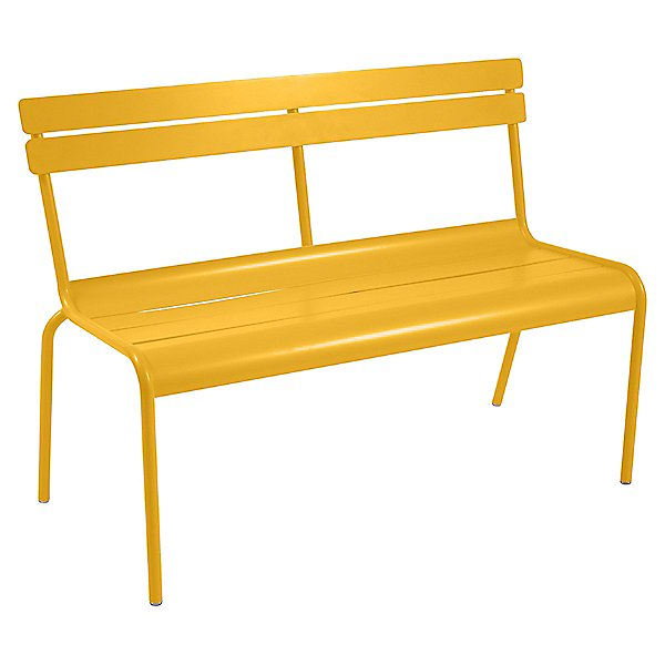 Luxembourg Bench with Back