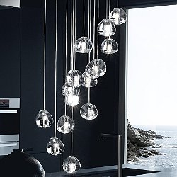 Mizu 15-Light Pendant Light